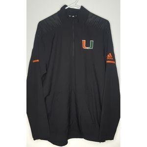 Adidas University of Miami Hurricanes Jacket